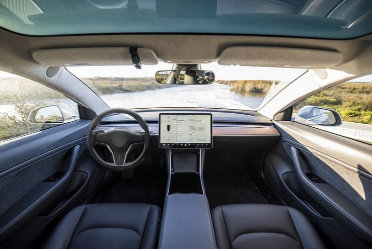 Tesla filed a patent 'User interface for steering wheel'