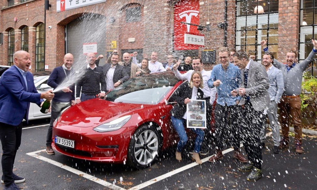 The people in Norway choose Tesla Model 3 as car of the year 2020