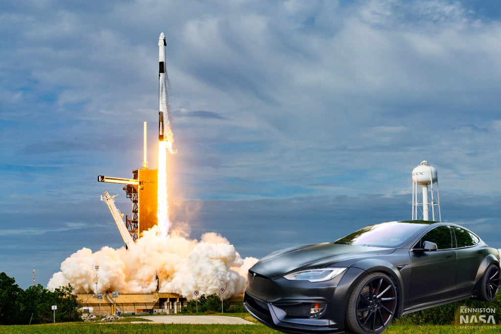 Tesla Stock TSLA Leads Market Skyrocket After SpaceX Historical Launch