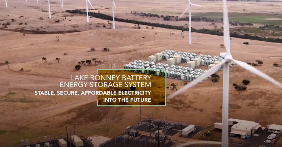 Tesla Massive 25 MW Powerpacks Set To Backup Wind Farm in Australia