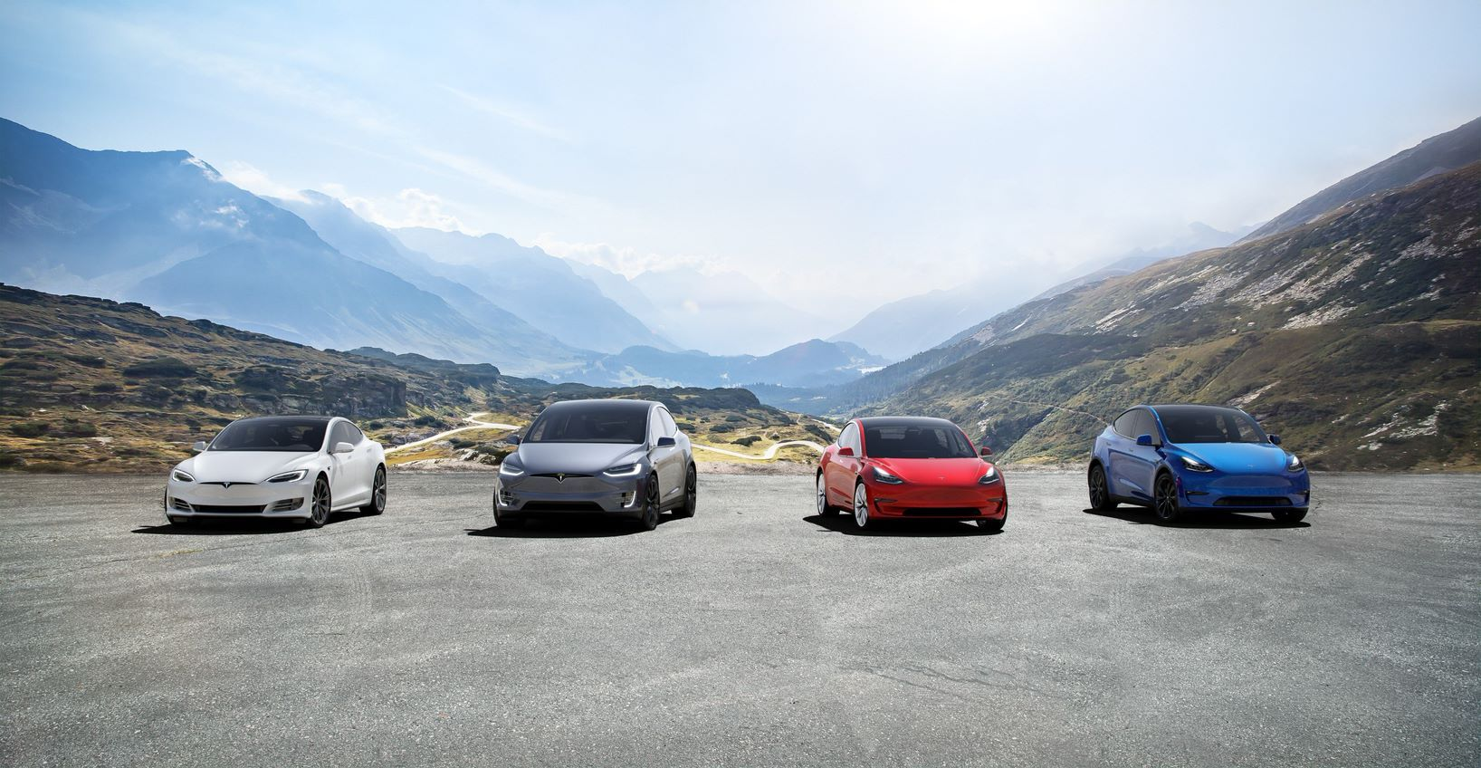 Tesla Model S 3 X Y Ranked Top 4 Of The 10 EVs With Best Ranges in 2020