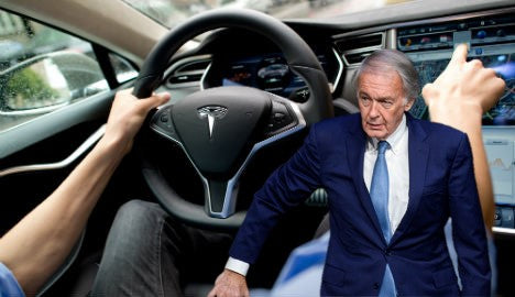 U.S. Senator Ed Markey wants to turn off autopilot. Really?