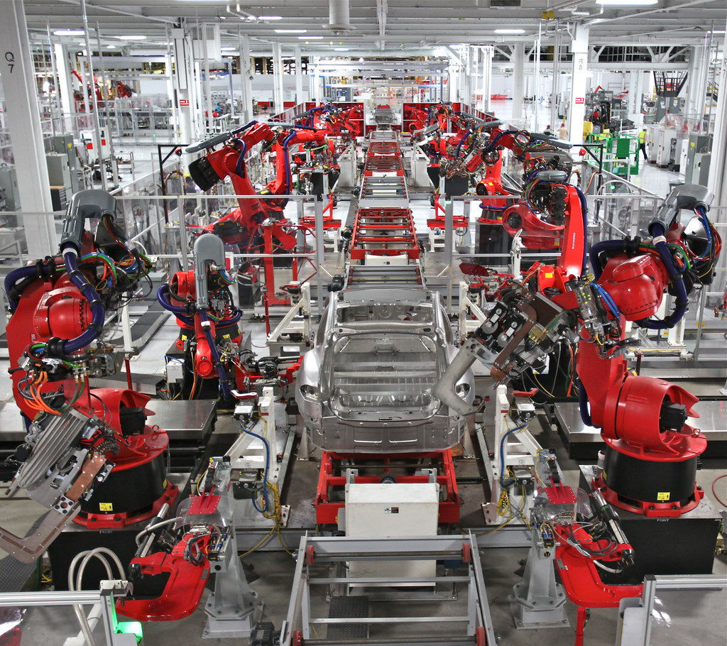 Tesla China Shares Impressive Giga Shanghai Production Time Lapse Video
