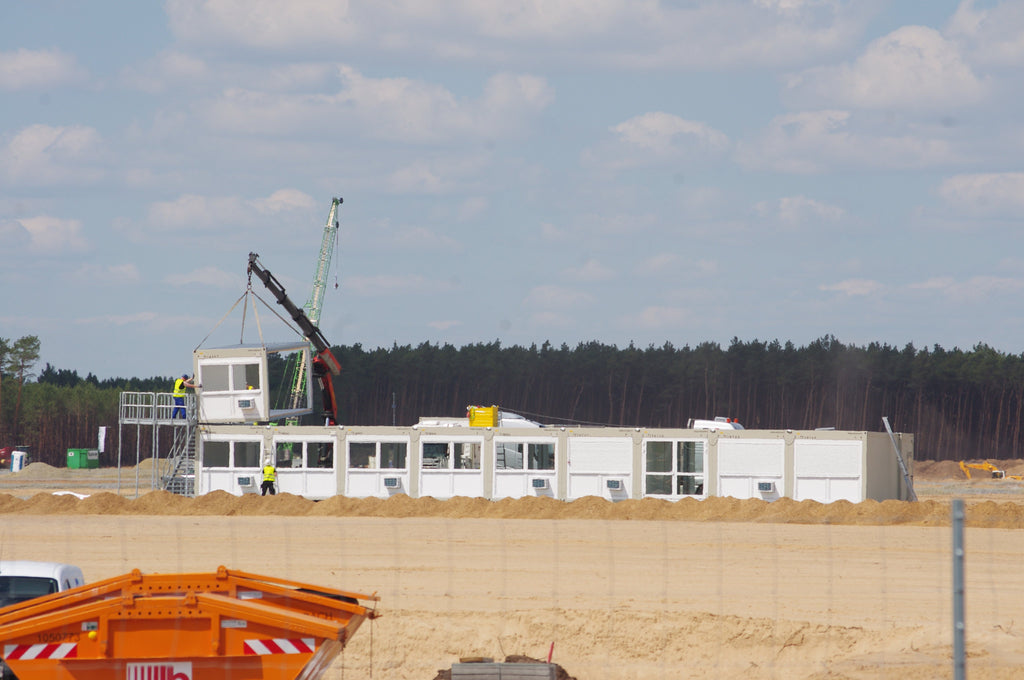 Tesla Giga Berlin Increases Workers at the  Site As Construction Moves Forward