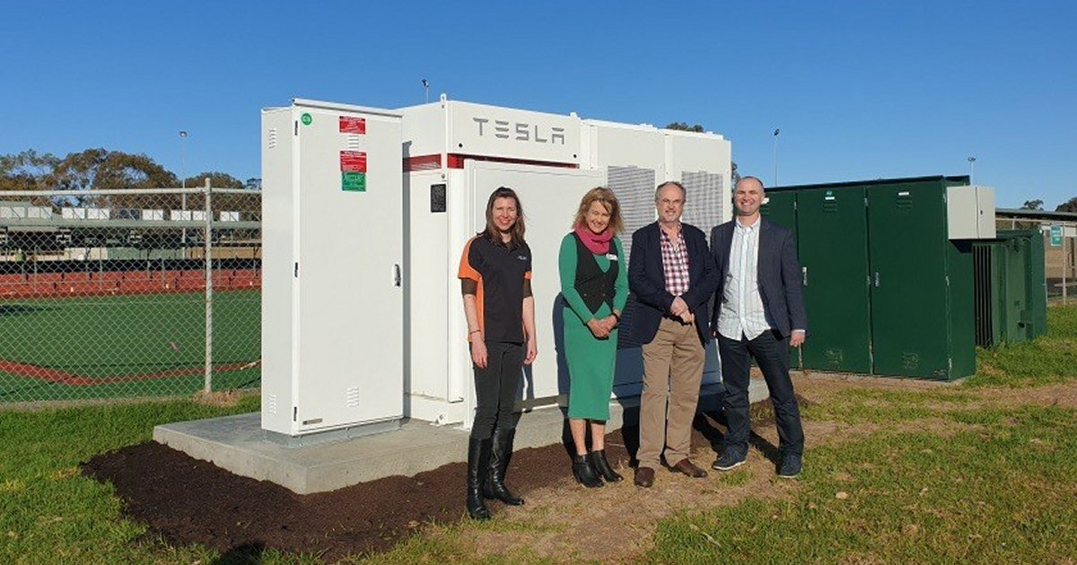 Western Australia Gov's Western Power Launched Tesla 464 kWh Battery Energy Storage System