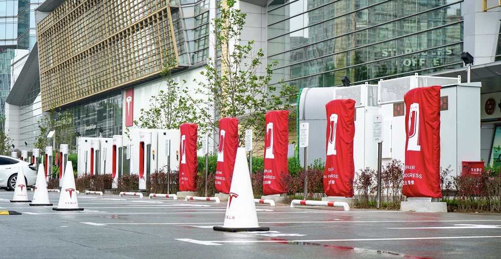 Tesla China Will Launch V3 Supercharging in Many Cities at Ludicrous Pace, First in Shanghai & Beijing