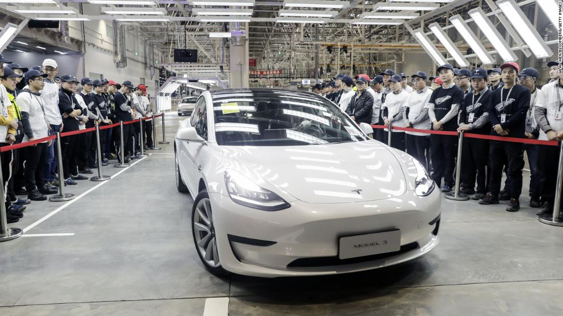 Tesla Giga 3 Shanghai Model 3 Is The Only Highlight Of China's Car Sales In March