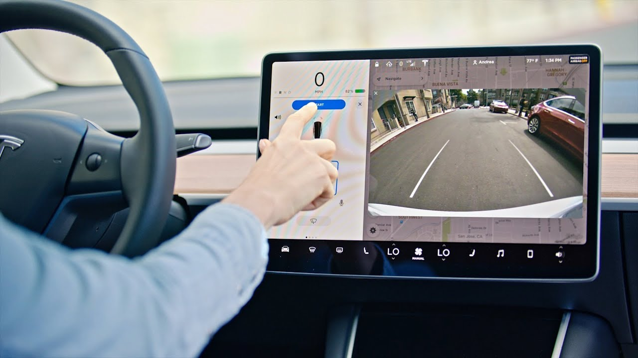 Tesla Cars Can Use Autopilot Side Cameras To Show Blind Spots When Signaling, In Next Update