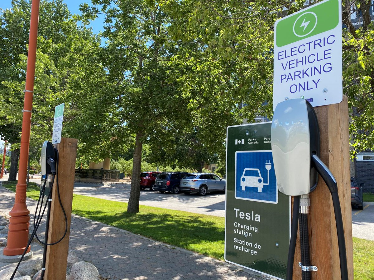 Tesla Donates 350 Charging Stations to 28 of Parks Canada Sites to Improve Access, Convenience