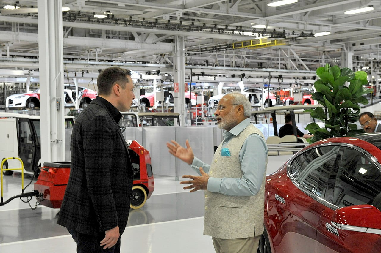 India Government Supports a New Tesla Gigafactory for Local Manufacturing & R&D Center