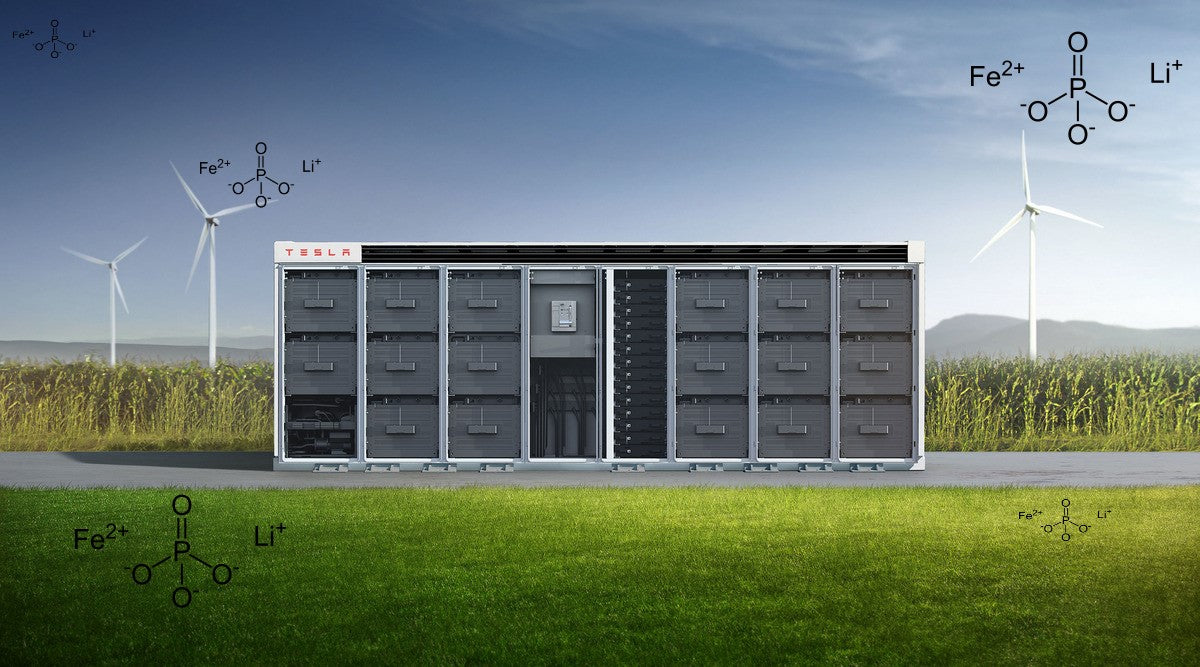 Tesla is Switching to LFP Batteries for its Energy Storage Solutions