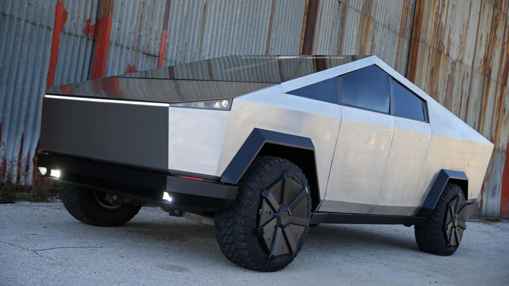 Tesla Fan Turns Ford F-150 Raptor into Cybertruck for Immediate Delivery