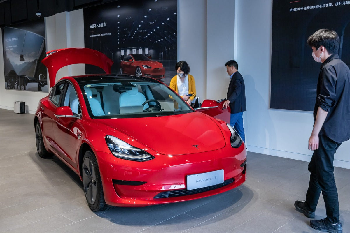 Tesla to Build New Data Center in China in Response to Law on Local Storage of EV Data
