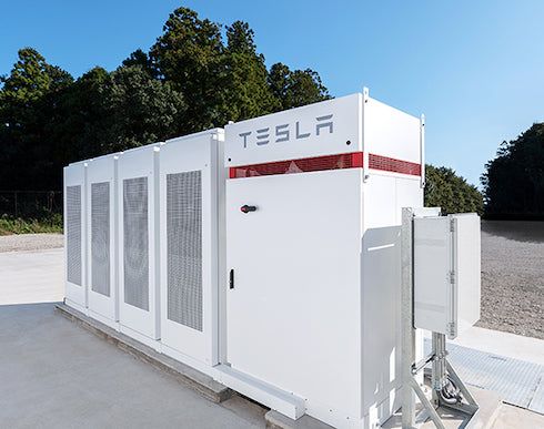 Tesla Powerpack in Japan