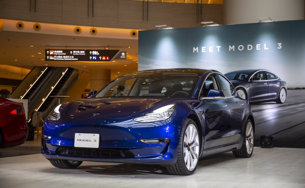 Tesla Model 3 Is August's Top-Selling Passenger Car in Hong Kong, Besting All ICE & EVs