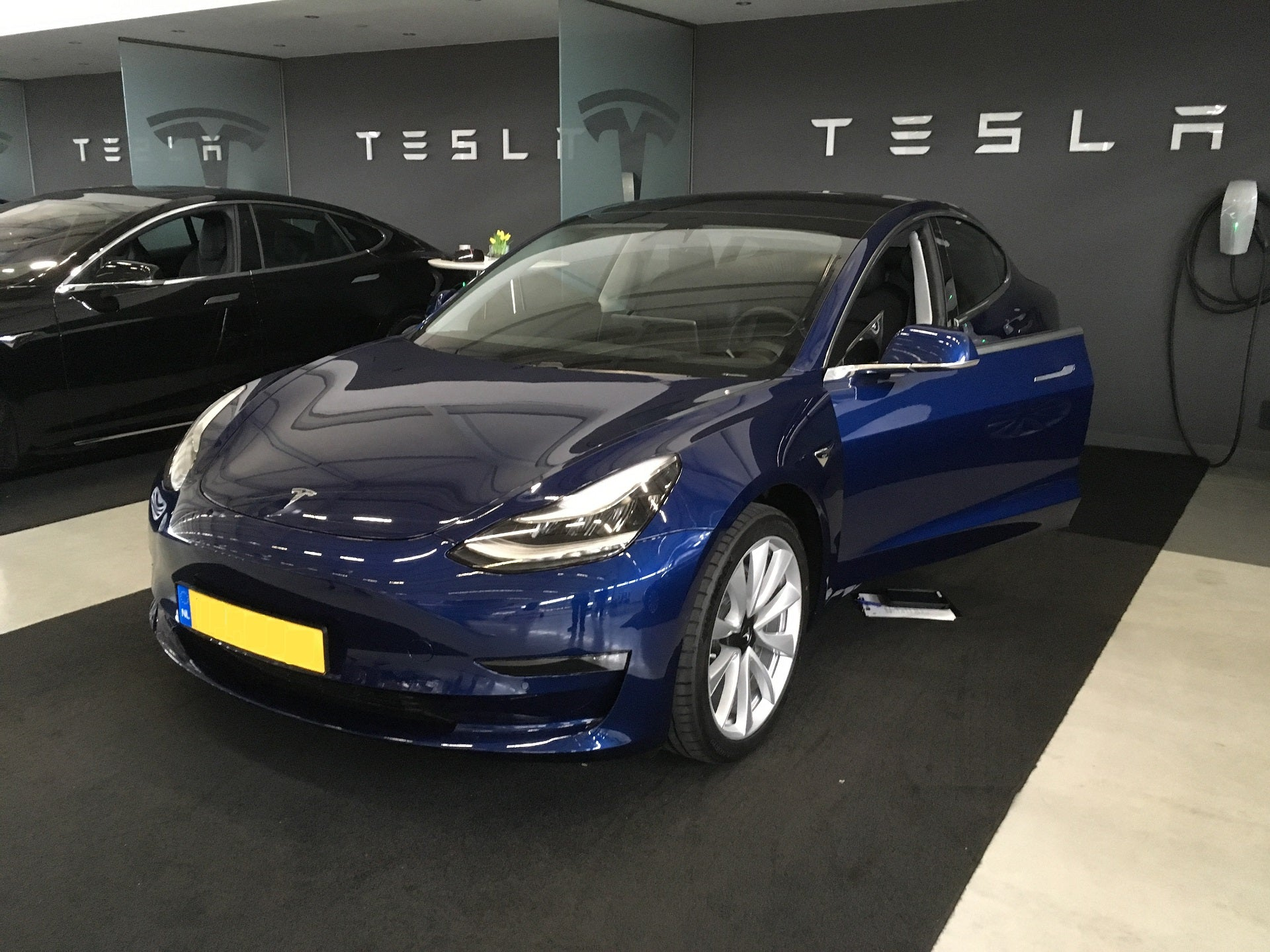Exclusive: Several Model 3 with Heat Pump & Octovalve Produced at Fremont Delivered to Tilburg