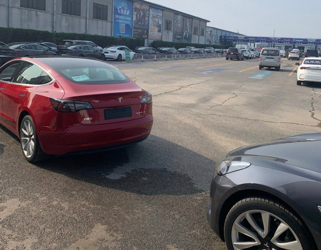 Tesla China Pushes Hard For Q2 Delivery, Flooding Beijing DMV Also Delivery Centers In Different Cities