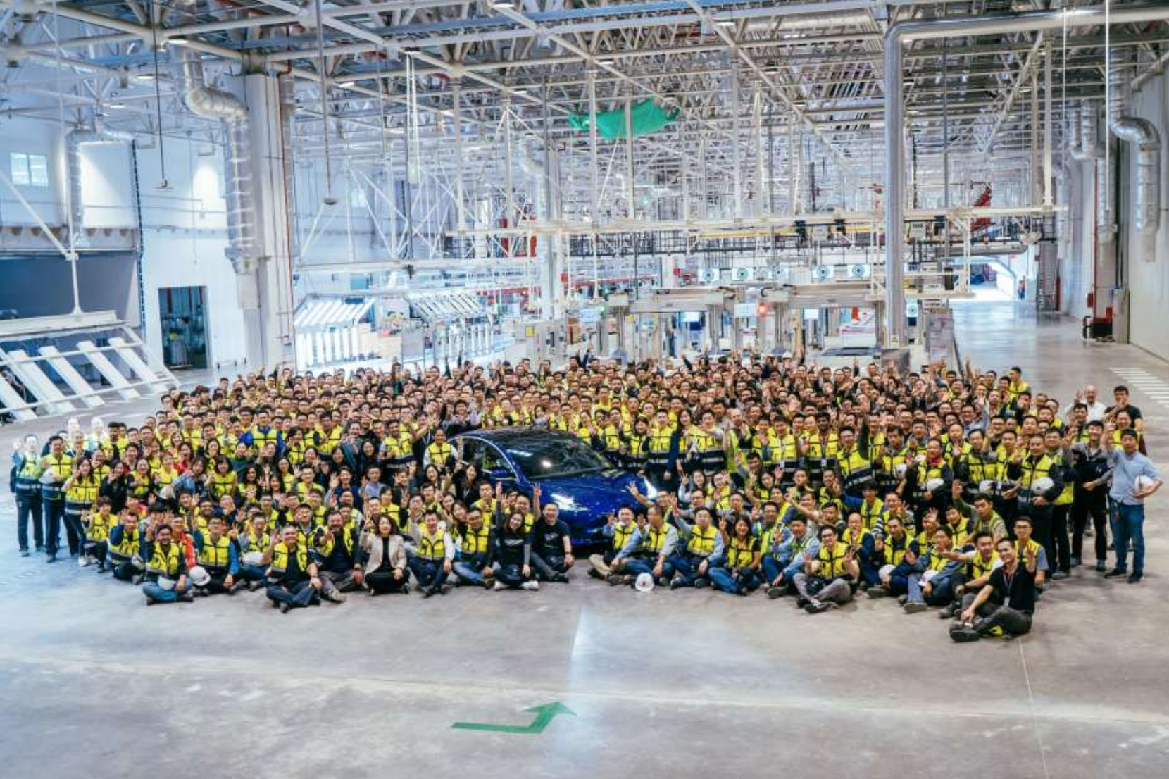 Tesla Giga Shanghai Will Increase to 3 Shifts After Chinese National Holiday