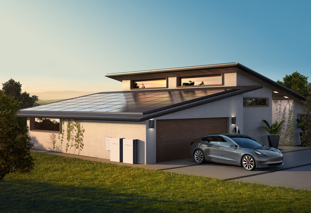 Tesla to Start Selling Solar Roof/Panels with Powerwall as Integrated Product, Boosting Storage Power by 50%