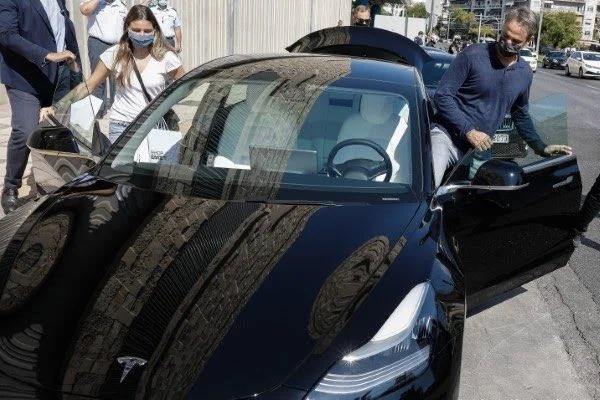 Tesla Model 3 Is Greek Prime Minister's New Ride