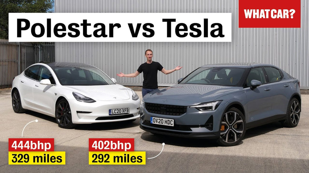 Tesla Model 3 Takes on Polestar 2: The Star of the Showdown