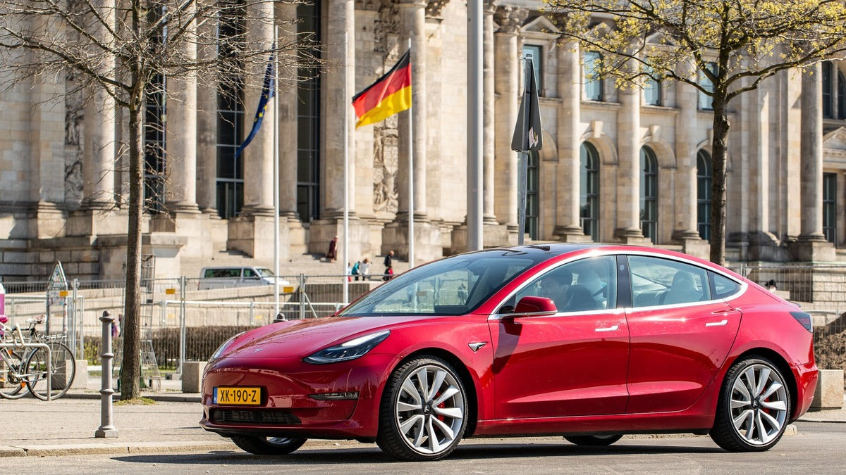 Tesla Model 3 Is March's Best-Selling EV in Germany, Capturing 12.3% Market Share