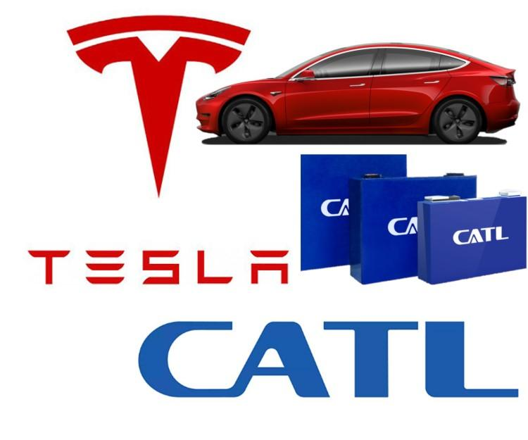 Tesla Giga Shanghai Model 3 Will Start To Use CATL LFP Battery Cells