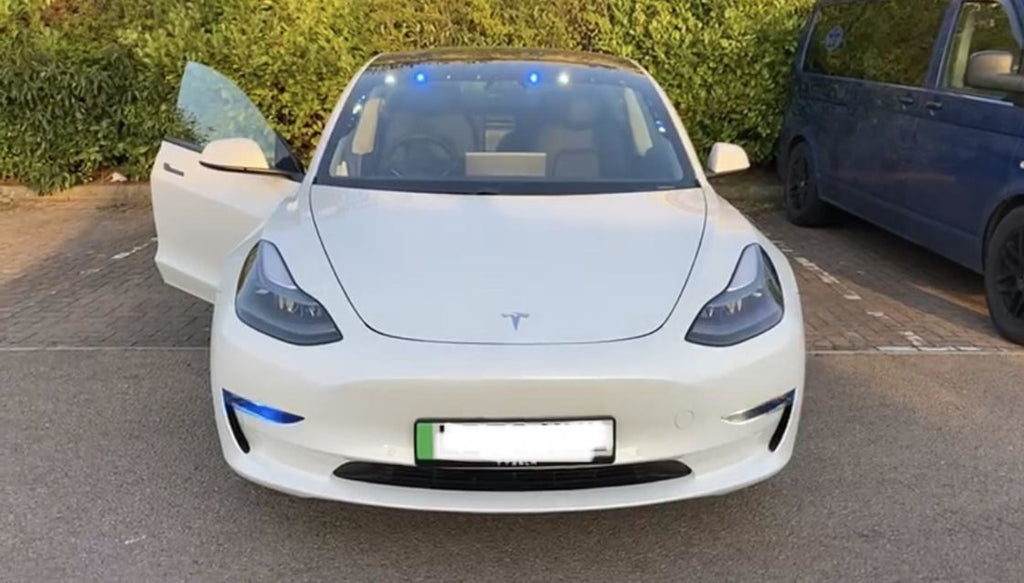 Gloucestershire Police Department is Testing Tesla Model 3 to Add to its Fleet