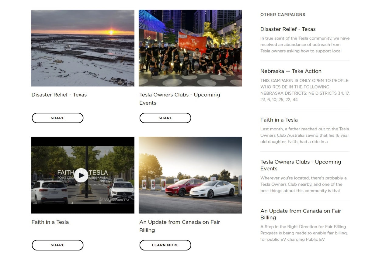 Tesla Launches Proprietary Social Media Platform Engage Tesla