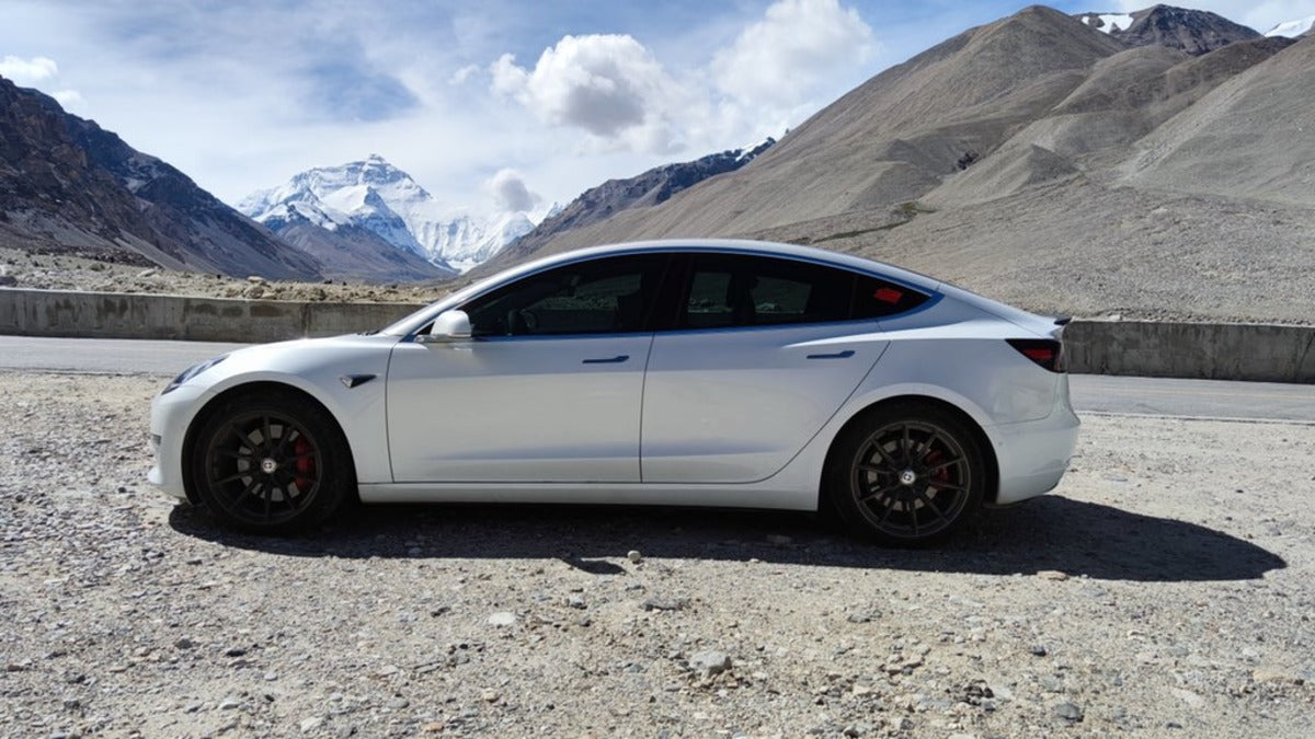 Tesla Literally Ascends to New Heights, Installs New Supercharger at Everest Base Camp