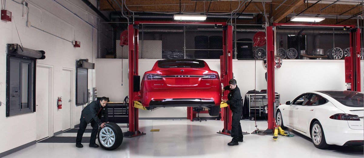 Elon Musk's Promise of In-House Tesla Service Collision Repairs Becomes Reality