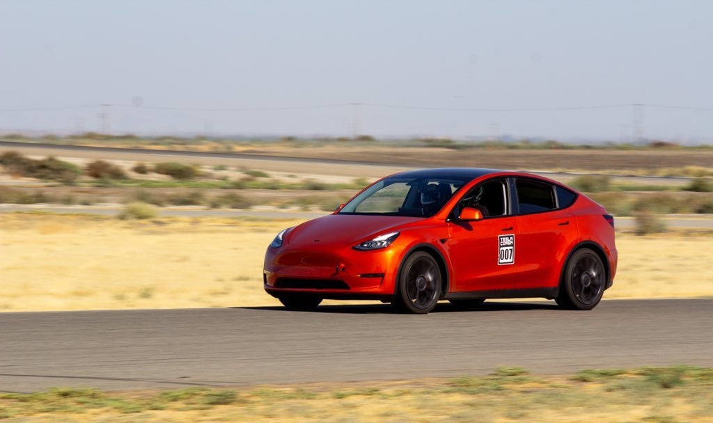 Tesla Model Y Performance Scores Fastest Unmodified SUV Laptime On Buttonwillow