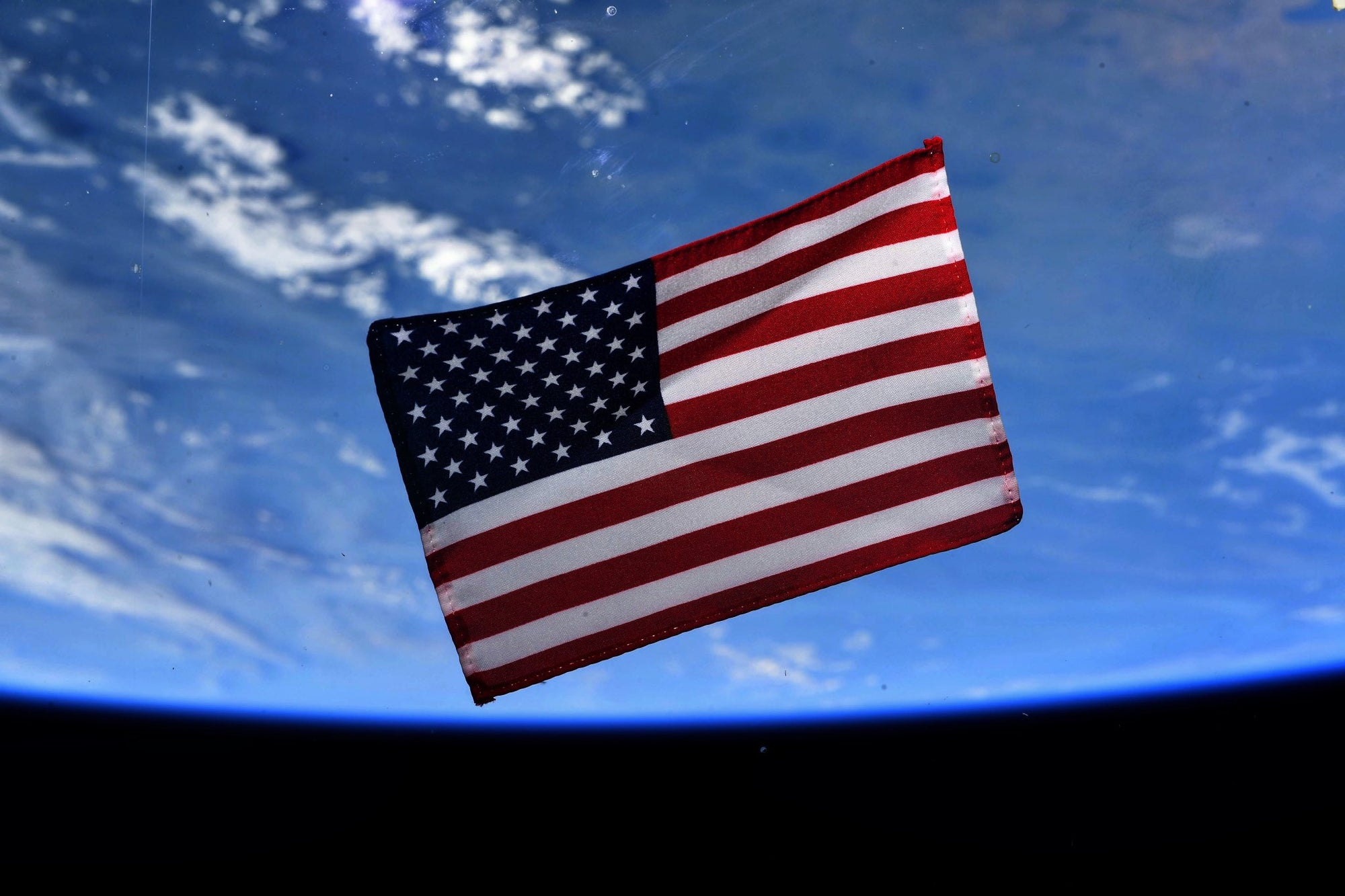 NASA Astronauts share plans to return historic U.S. flag aboard SpaceX's Dragon as they commemorate July 4th