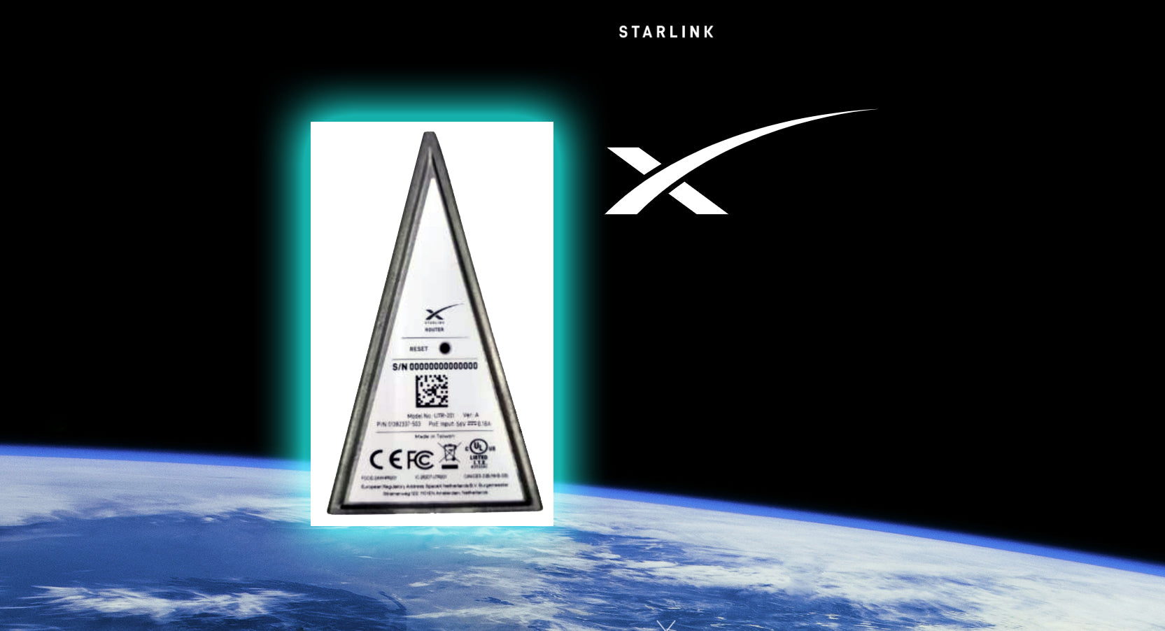 FCC approves the operation of 'Starlink Router' for SpaceX's internet network