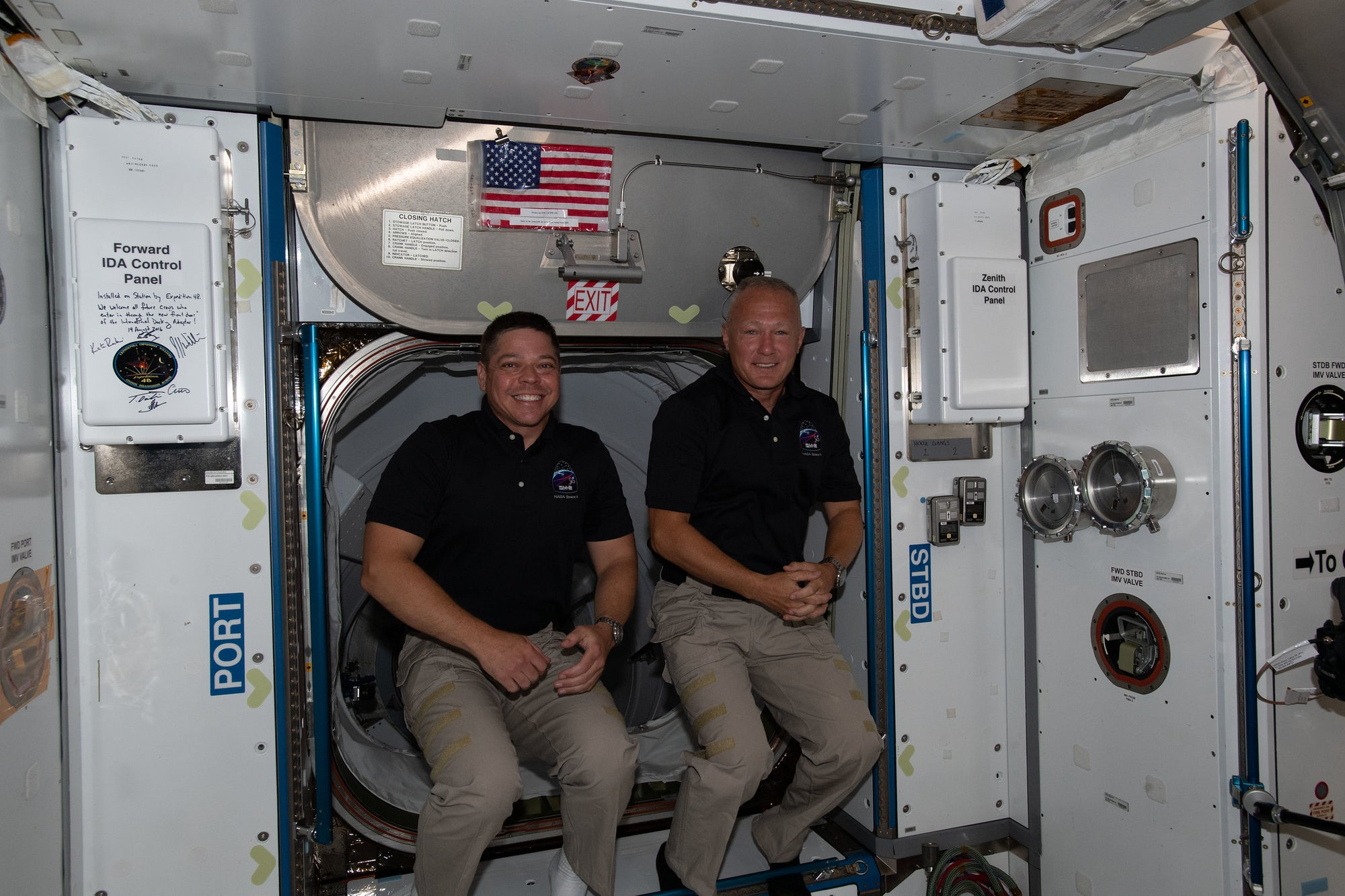 NASA announces Astronauts will return aboard SpaceX Crew Dragon early August
