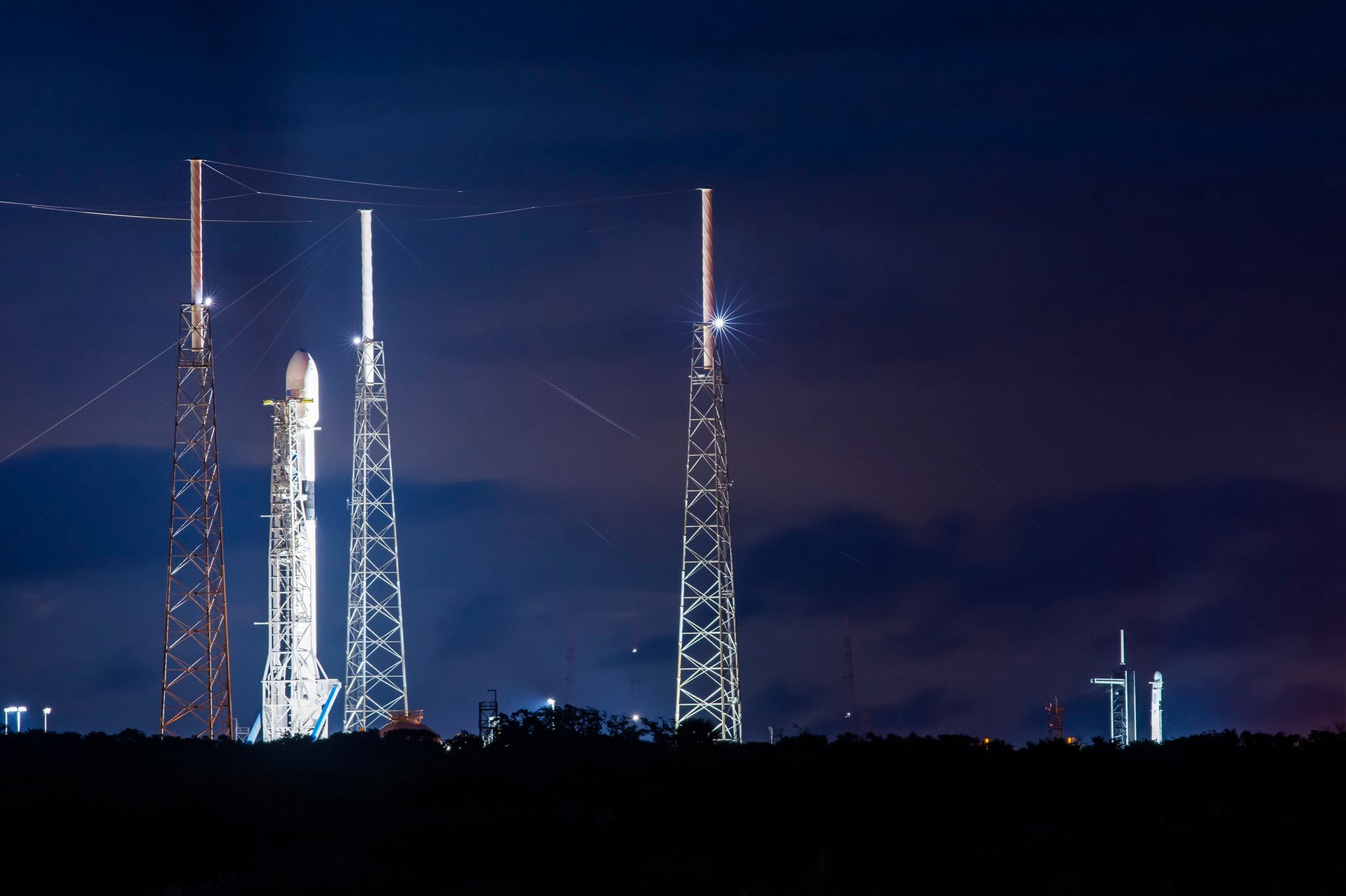SpaceX will conduct back-to-back Falcon 9 launches this week