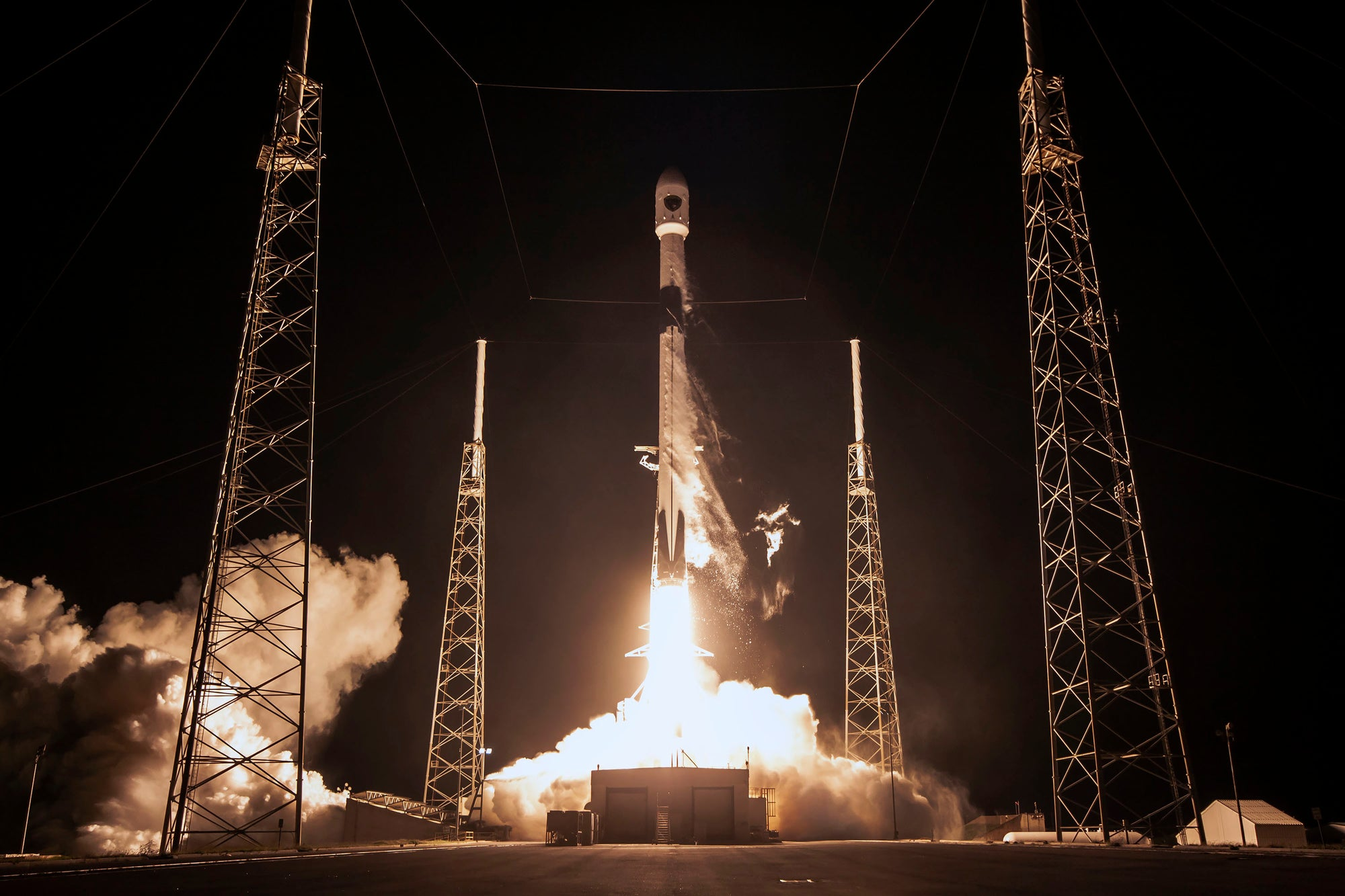 SpaceX will use previously-flown Falcon 9 rockets for U.S. Space Force National Security Missions