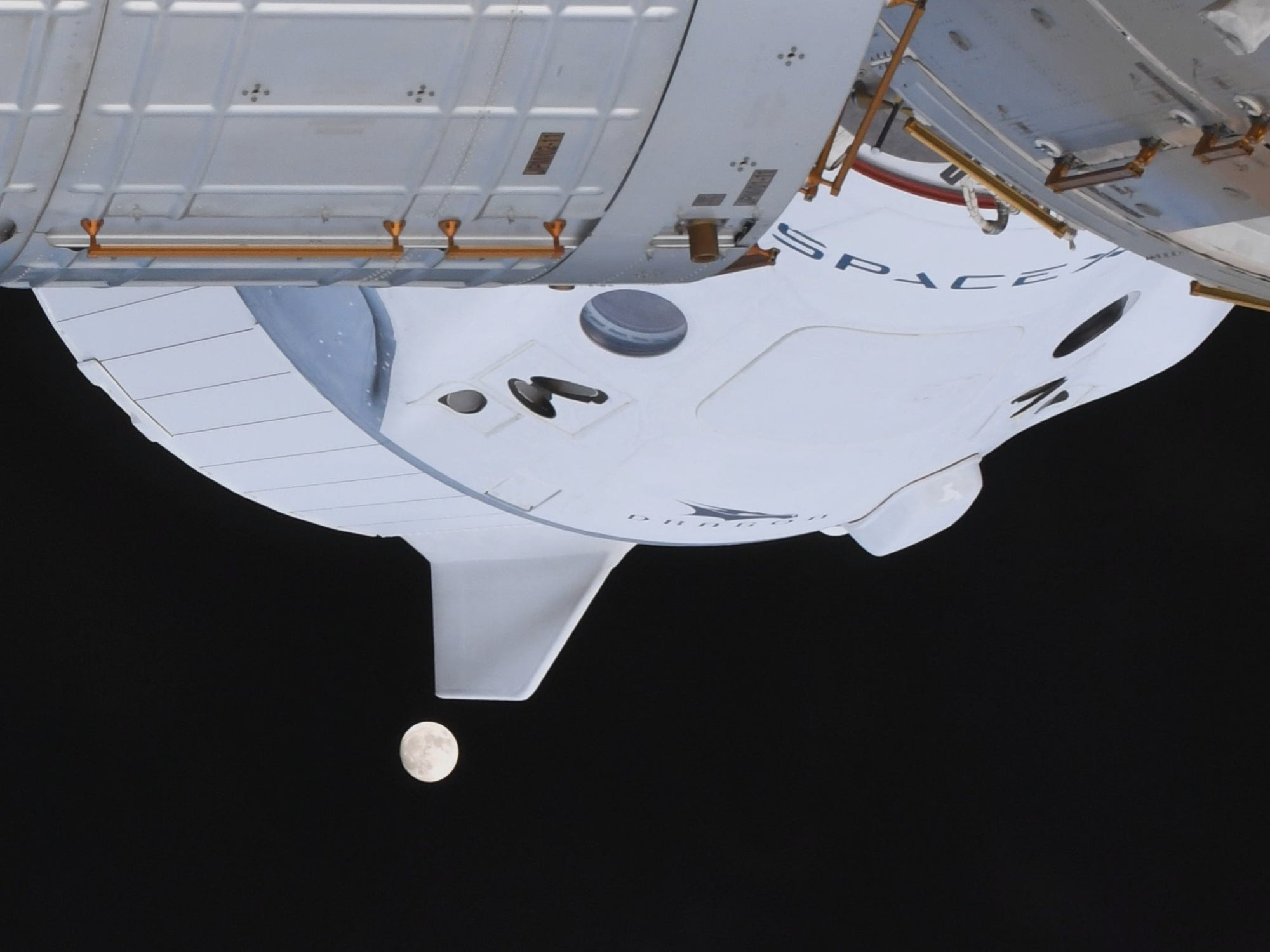 The Space Station will have a pair of SpaceX Dragon spacecrafts docked simultaneously