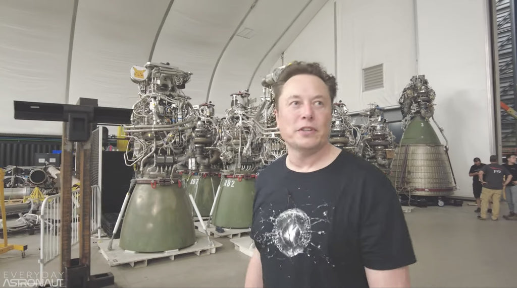 Everyday Astronaut Releases Second Video Of SpaceX Starbase Facility Tour With Elon Musk