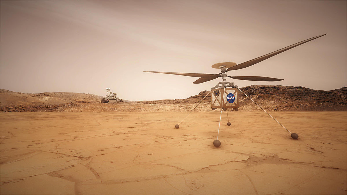 NASA attaches Helicopter to Perseverance Rover in preparation for July mission