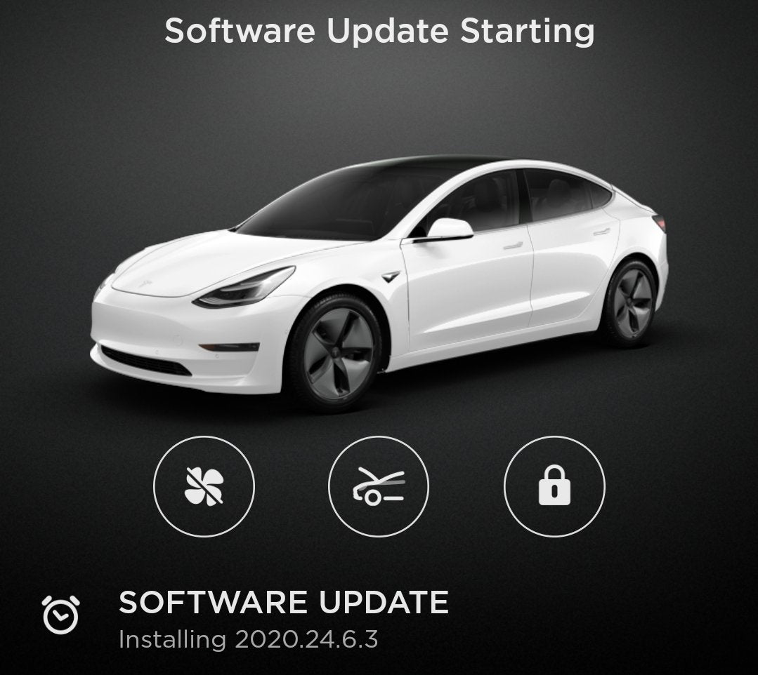 Tesla Starts To Roll Out 2020.24.6.3 OTA Software Update For Canadian Owners