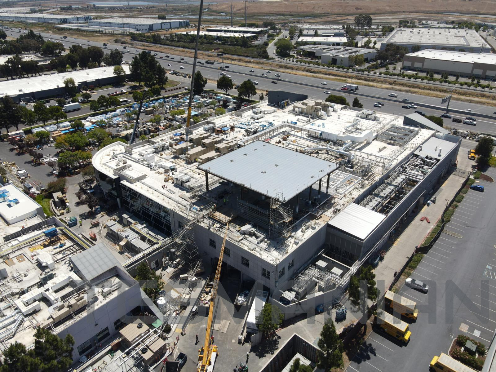 Tesla 'Roadrunner' Site Construction Continues Before the Battery Day