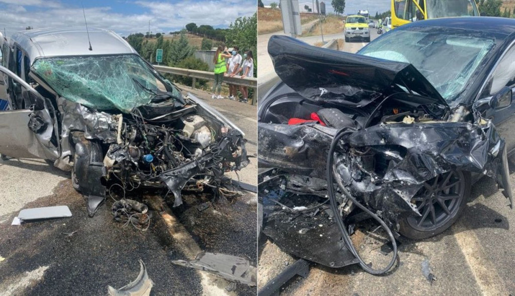 Tesla Vehicle Saves Driver's Life After Frontal Collision, as Safety Is Top Design Priority