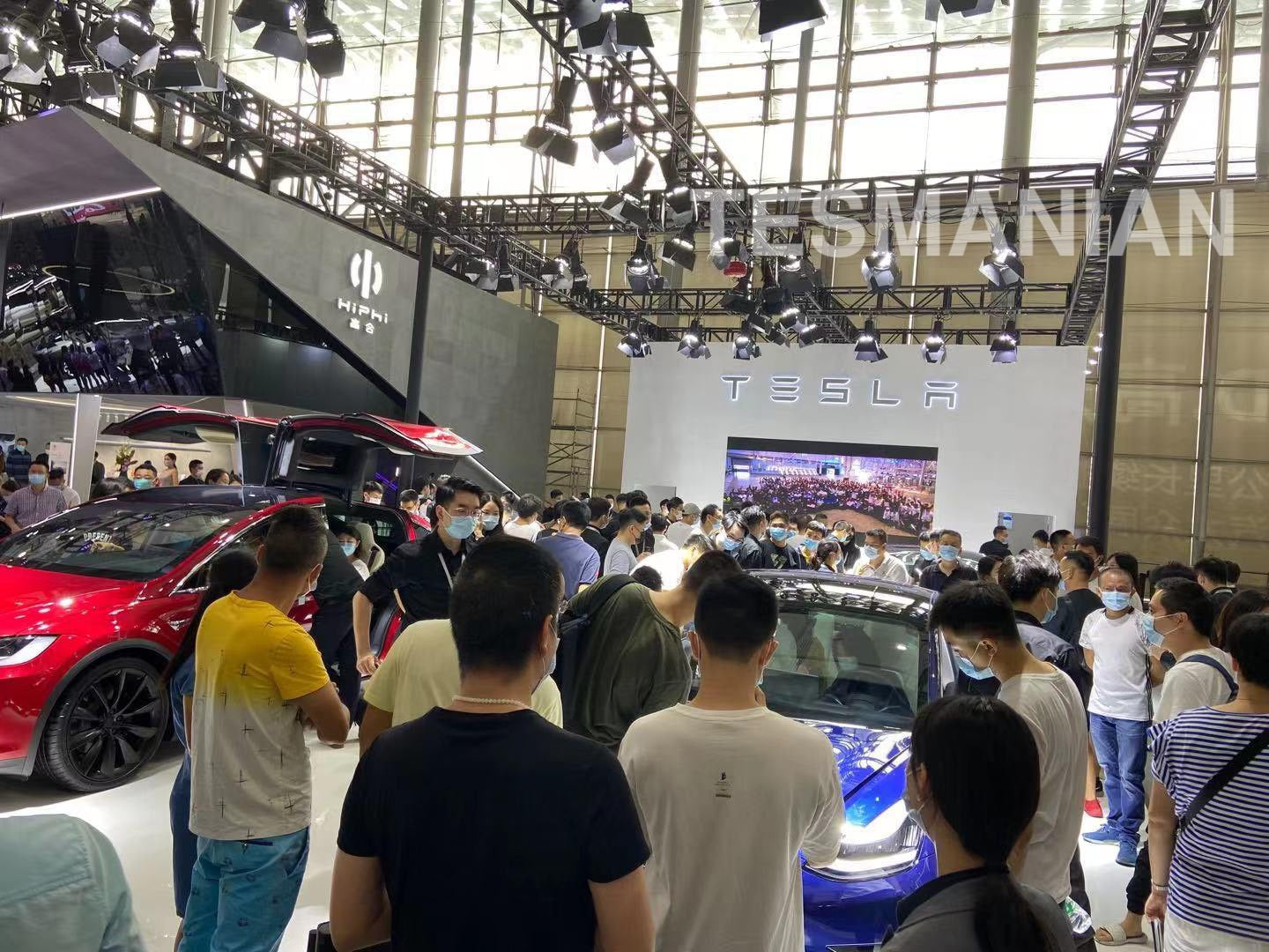 Tesla China Drives Incredible Interest in 2020 Guangzhou Auto Show