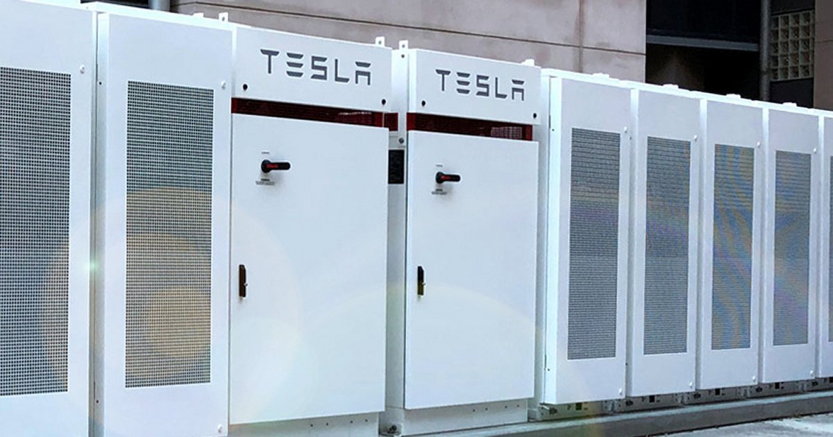 University of Queensland Australia turns on Tesla Powerpack