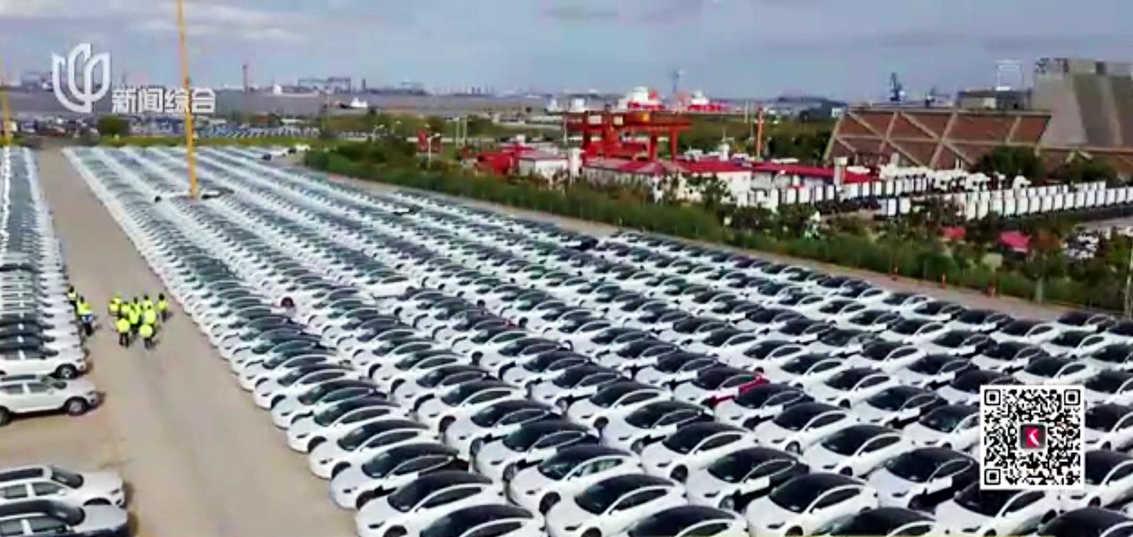 Tesla Giga Shanghai Has Thousands of Model 3 Ready to Export to 10+ of European Countries Next Week