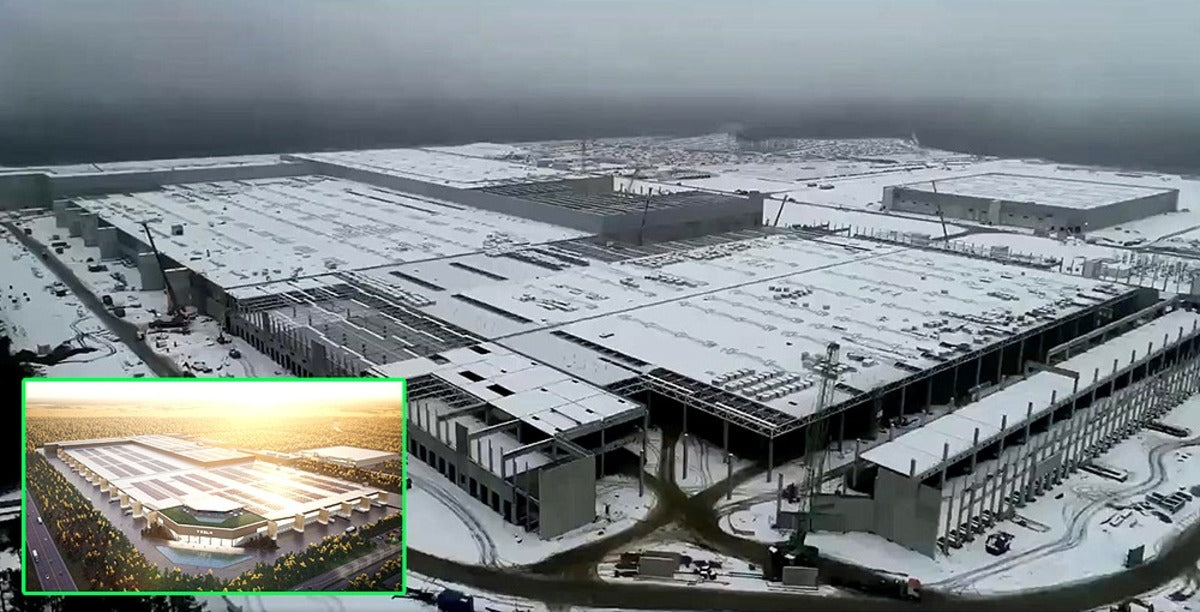 Tesla Giga Berlin Construction Is Nearly Complete as EV Storm Is Coming for ICE