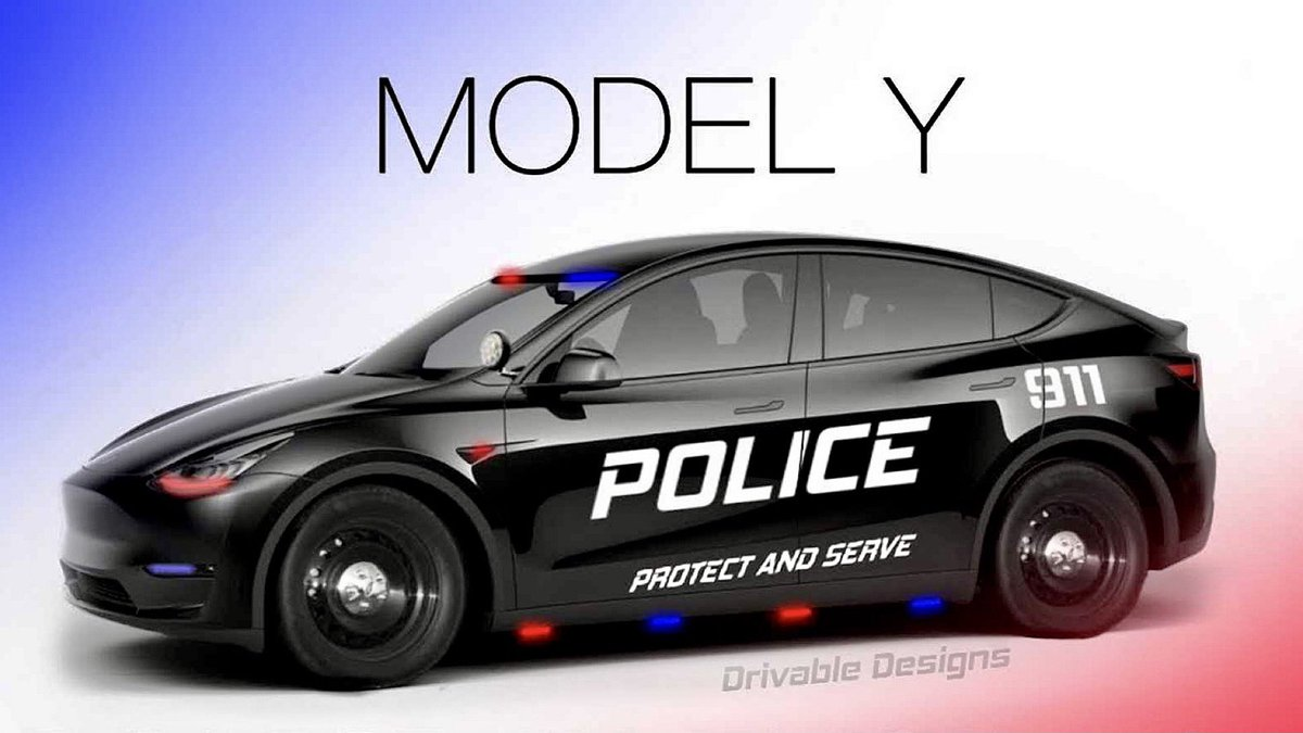 Tesla Model Y Was Bought for Police Chief of Ipswich, Michigan to Further Town's Green Energy Initiatives