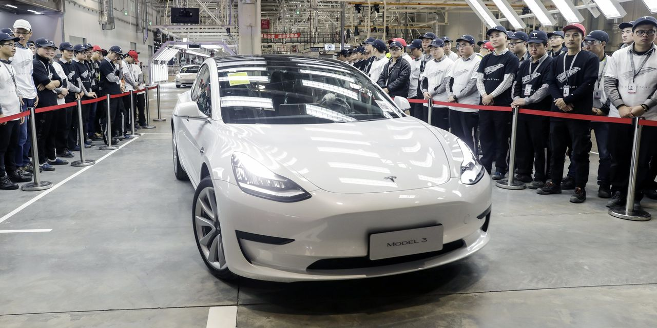 Tesla China Model 3 Achieves New Sales Record Of 14,954 Units, 23% Of China's EV Market In June