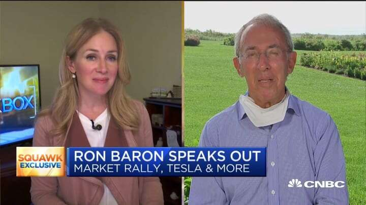 "Tesla Legendary Investor Ron Baron Believes ""there's 10 times more to go"" on growth  For Tesla"